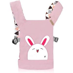 Cuby Pattern Baby Doll Front Carrier