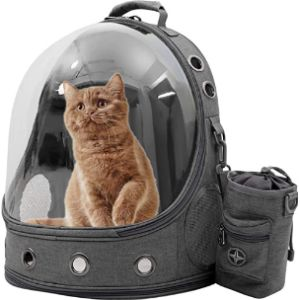Cheighy Cat Backpack Carrier Bubble