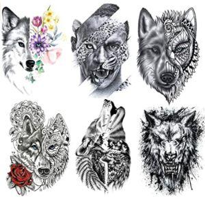 Leoars Henna Tattoo Men