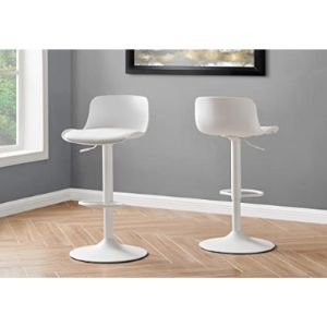 Monarch Specialties Adjustable Metal Stool