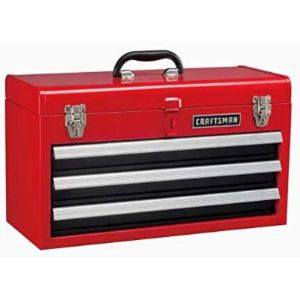 Craftsman 3 Drawer Steel Tool Box