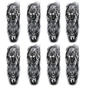 Leoars Tattoo Design Tiger