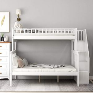 Visit The Merax Store Bunk Bed End Ladder