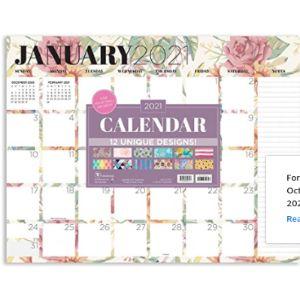 Tf Publishing Pretty Desk Pad Calendar