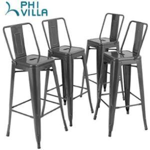 Phi Villa Metal Stool Chair
