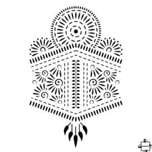 Mihenna Back Henna Design