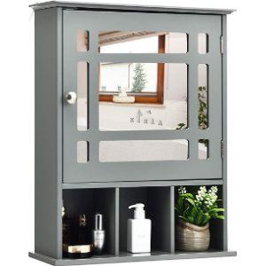 Tangkula Bath Medicine Cabinet