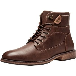 Vostey Men Motorcycle Boot