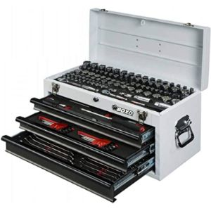 Boxo 3 Drawer Steel Tool Box