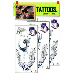 Umama Wing Tattoo Template