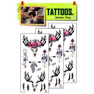 Umama Crown Tattoo Template