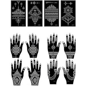Ysdo Henna Tattoo With Glitters