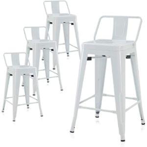 Belleze Metal Stool Chair