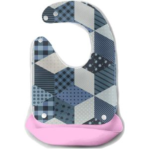 Girlos Quilted Baby Bib