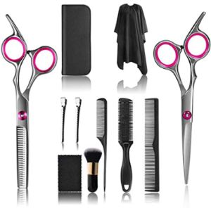 Upeor Pink Hairdressing Scissors