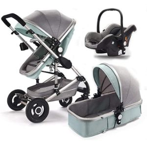 Hjsw Lightweight Stroller With Bassinet