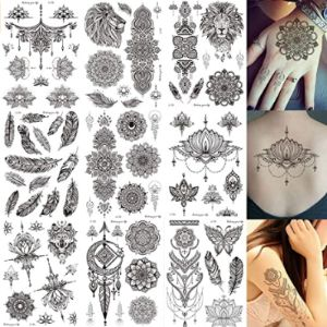 Lethestak Henna Tattoo Sticker