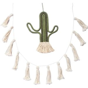 C&S Design Christmas Tassel Garland