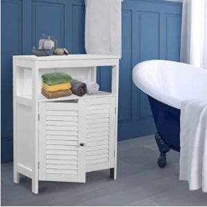 Good Gracious White Towel Cabinet
