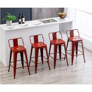 Haobo Home Metal Stool Chair