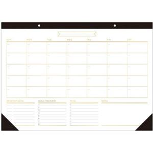 Caiyi Studio Undated Desk Pad Calendar