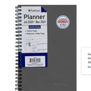 Planahead 18 Month Planner