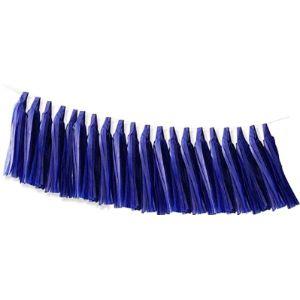 Inxens Blue Tassel Garland