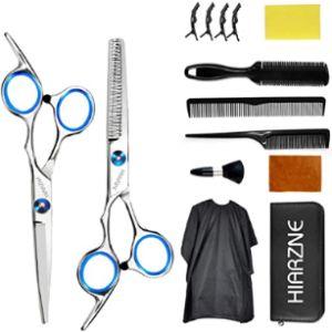 Hiarzne Professional Hair Scissors Kit