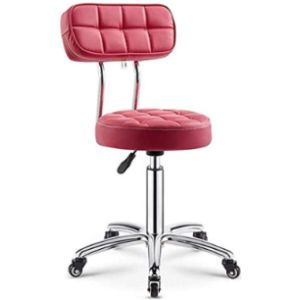 Kfdq Medical Stool With Backrest