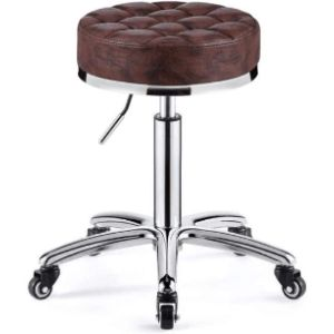 Dwxn Saddle Brown Leather Chair