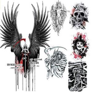 Ladying Design Angel Tattoo