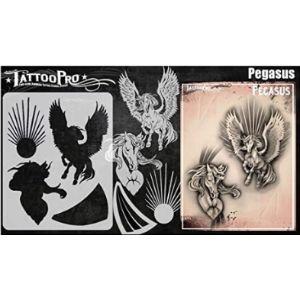 Tattoo Pro Stencils Wing Tattoo Template