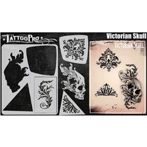 Tattoo Pro Stencils Skull Tattoo Template