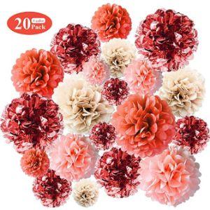 Annido Tissue Paper Flower Rose