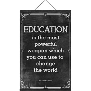 No Mark Nelson Mandela Education Quote