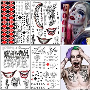 Fatcat Wall Graphics Joker Tattoo Design