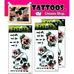 Umama Skull Tattoo Template