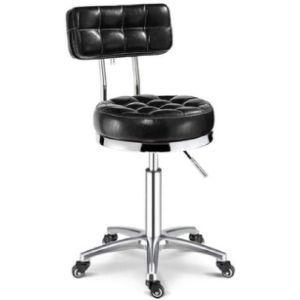 Dwxn Medical Stool With Backrest