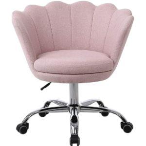 Henf Velvet Rolling Chair