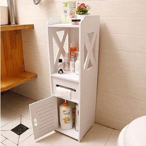 Vodetf Paper Door Towel Holder Cabinet