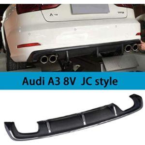 Qcyp Audi A3 Rear Bumper Diffuser