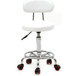 Fekuit Salon Stool Chair Steel Stool Chair