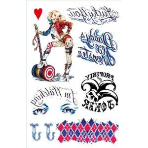 N Joker Tattoo Design