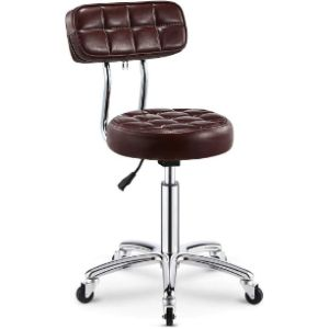 Rugs Saddle Brown Leather Chair