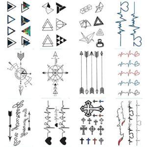 Wyuen Tattoo Pattern Geometric