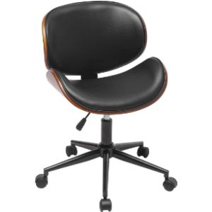 Homvent Wood Rolling Chair