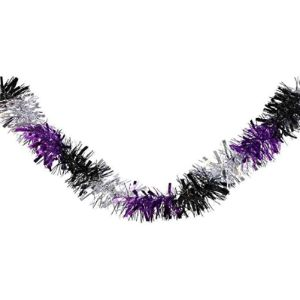 Choochootrainsk Halloween Tinsel Garland