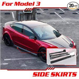 Tesla3Sscf Side Skirt Diffuser