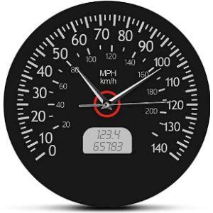 Zhenzhen Speedometer Wall Clock