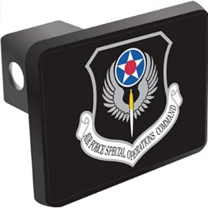 Militarybest Air Force Trailer Hitch Cover